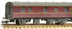 374-641 Graham Farish BR MK 1 CCT Lined Maroon Weathered